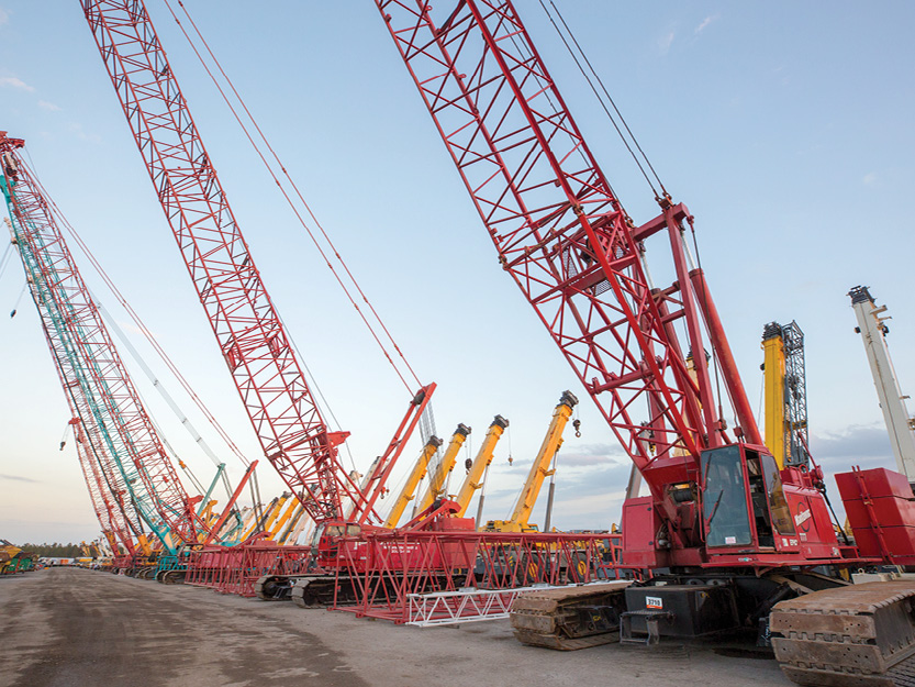 Cranes & lifting equipment